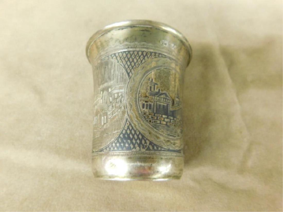 Russian Silver Kiddush Cup - 2