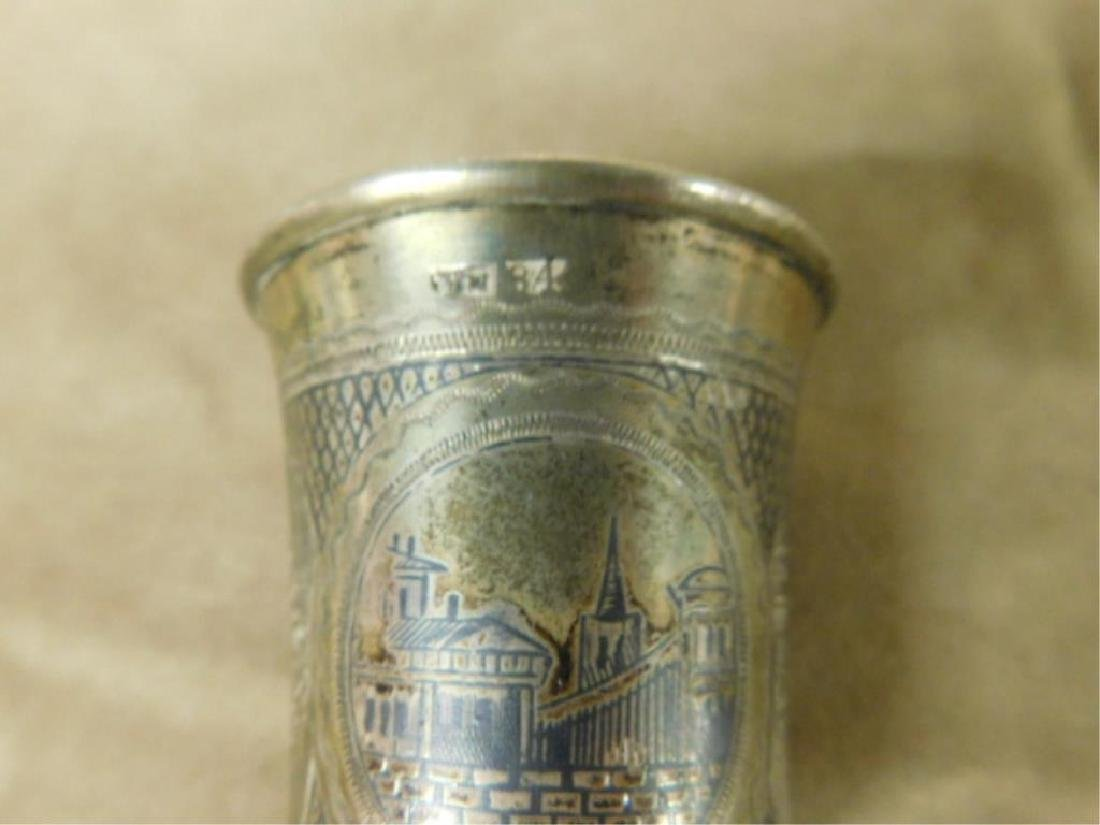 Russian Silver Kiddush Cup - 3