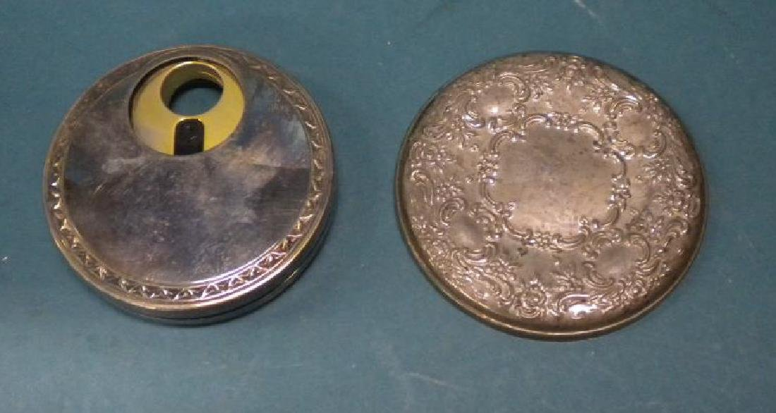 Silver Lady's Purse Accessories
