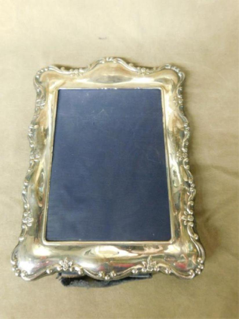 English Sterling Silver Picture Frame - 2