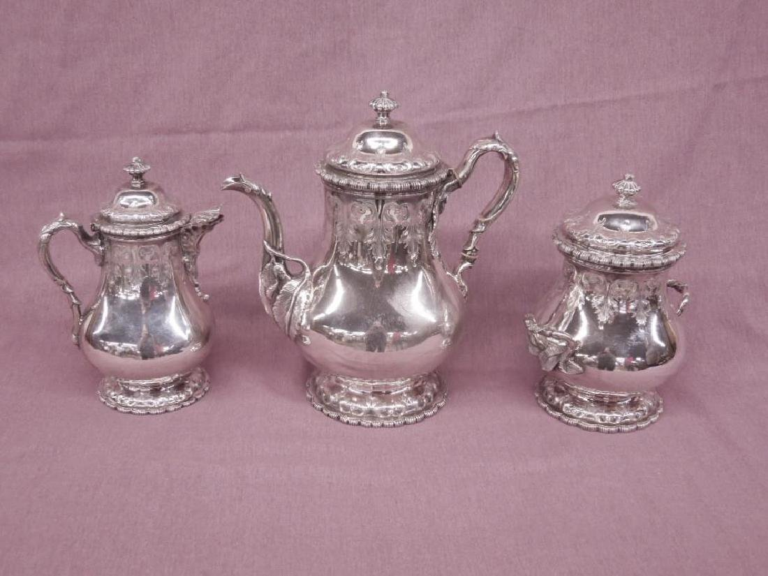 3 Pc Tiffany & Co Sterling Coffee Service