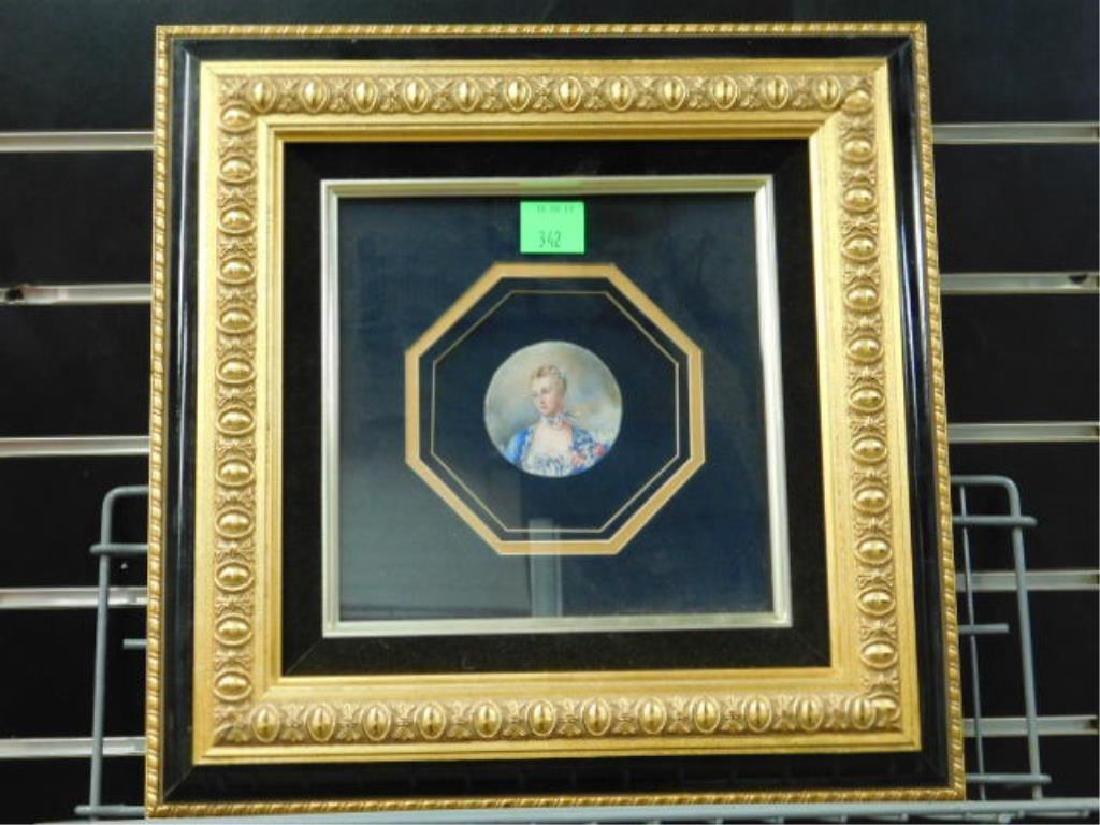 19th C Miniature Portrait Paintings - 3