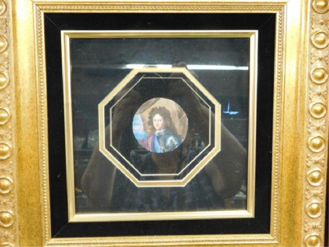 2 19th C Miniature Portrait Paintings - 2