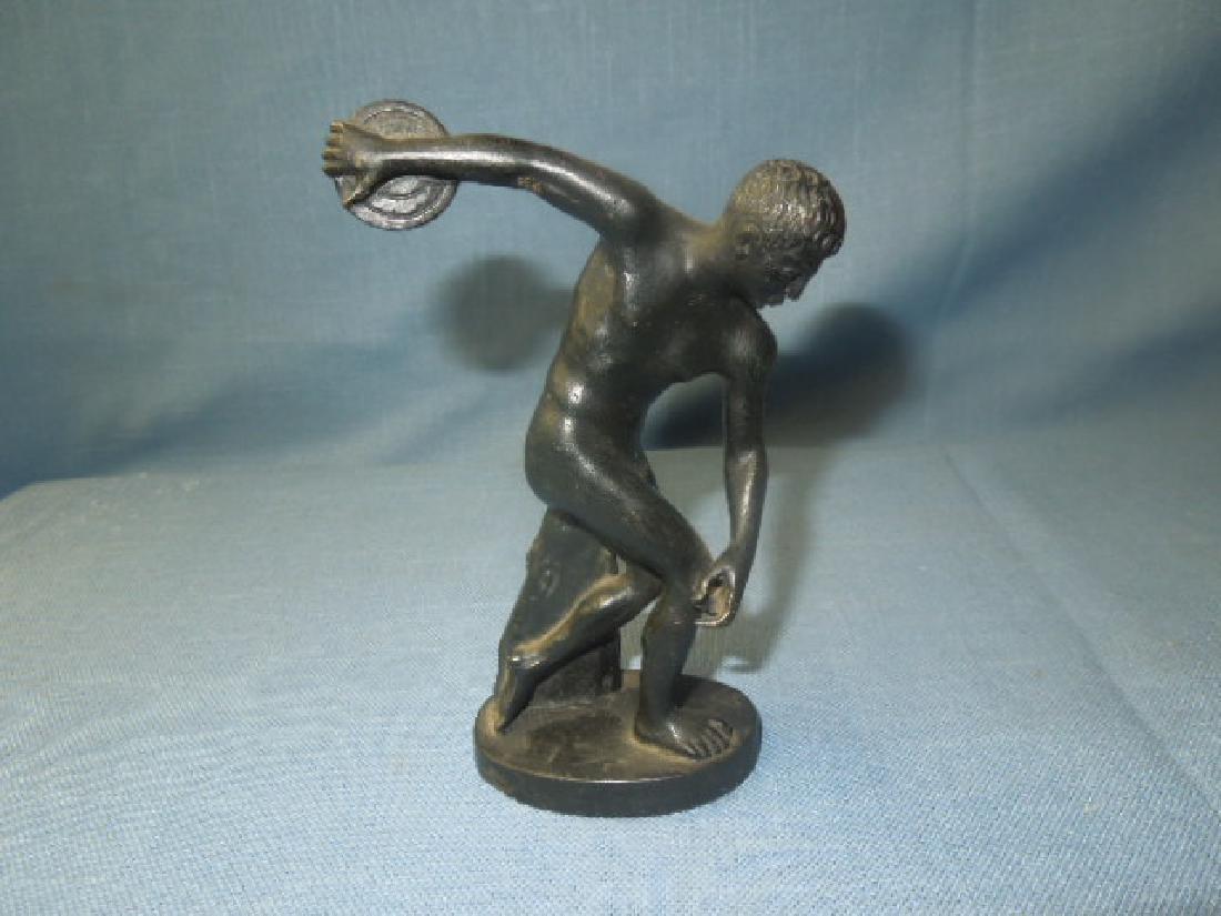 Continental Bronze Discuss Thrower Figure - 3