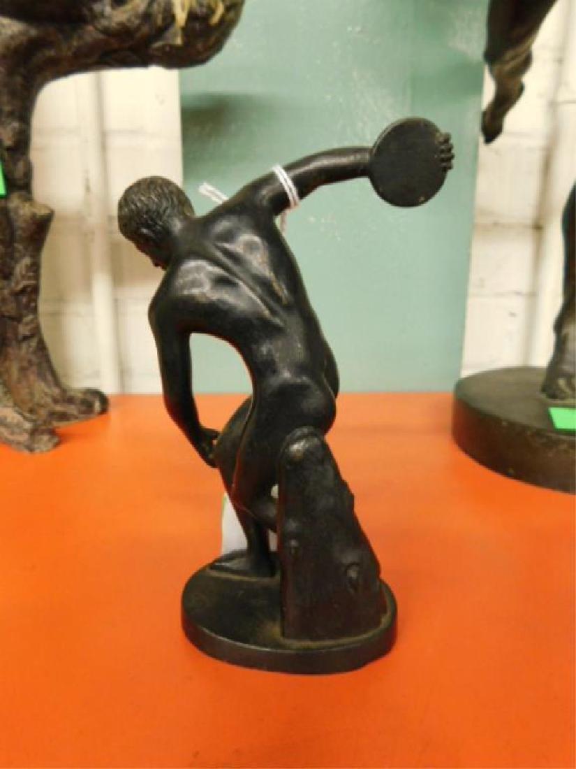 Continental Bronze Discuss Thrower Figure - 8