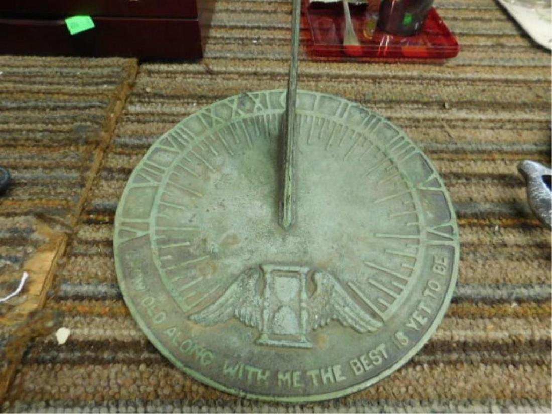 Virginia Metalcrafters Sundial