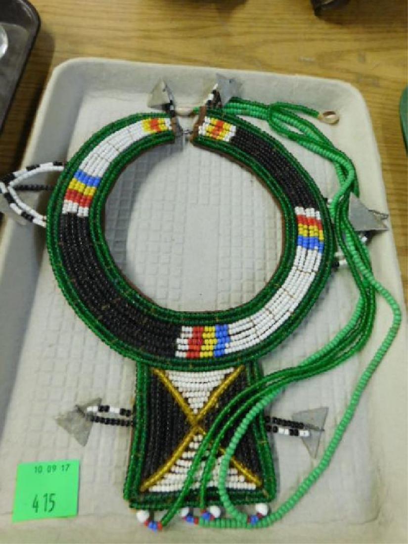 African Maasai Collar Necklace
