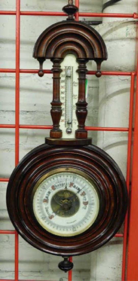 German Barometer /thermometer