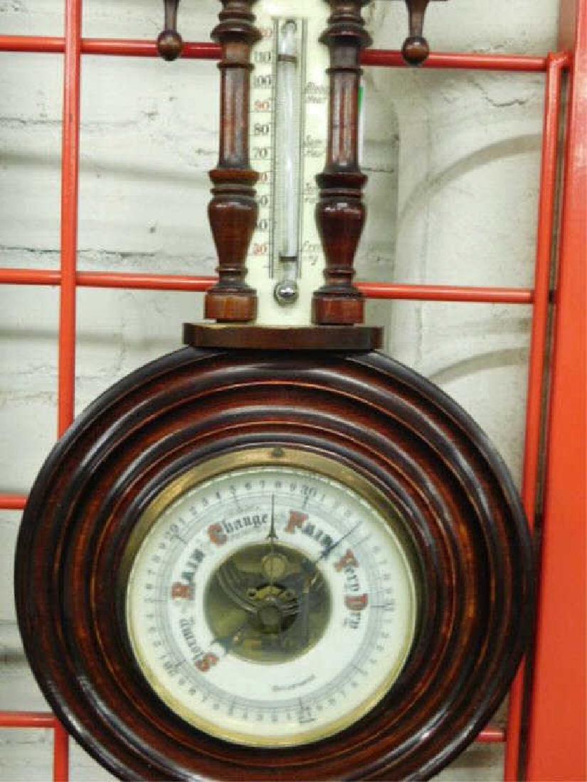 German Barometer /thermometer - 2