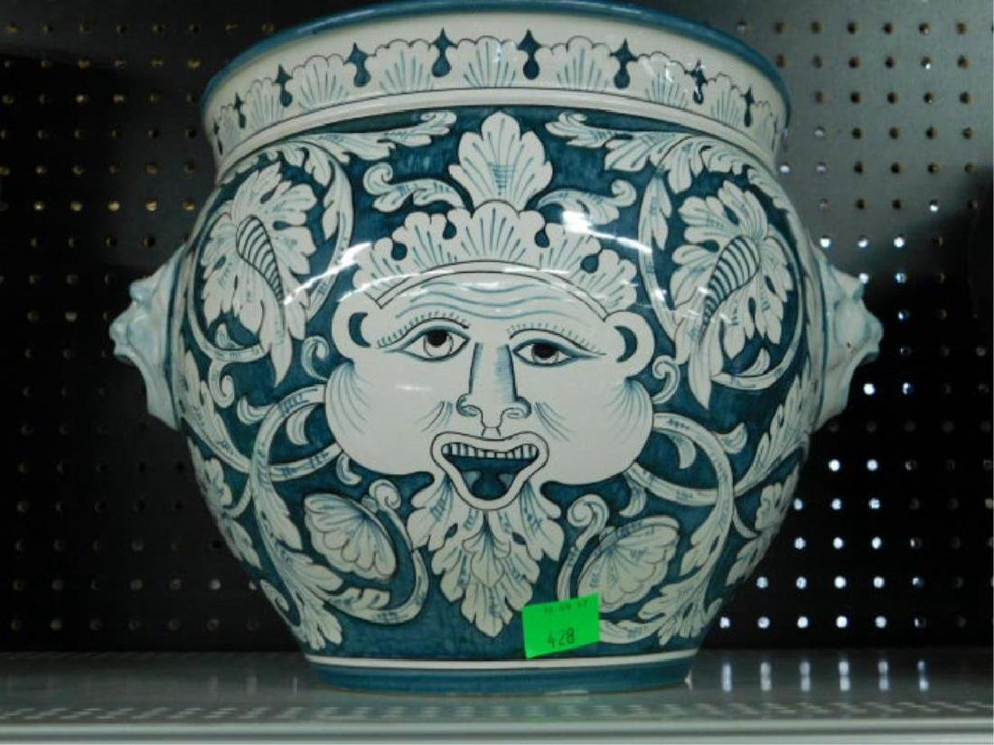Fratelli Mari Deruta Pottery Jardiniere