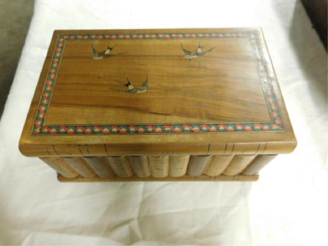 Italian Olive Wood Jewelry Box