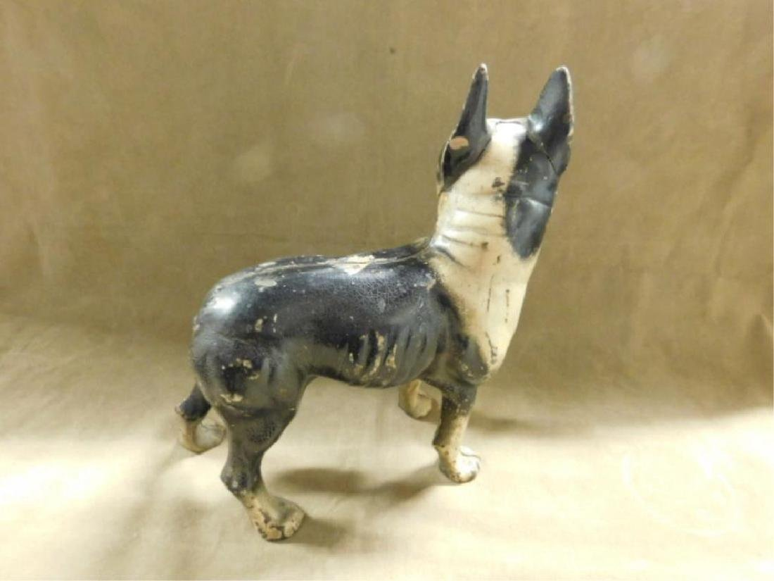 Cast Iron Boston Terrier Doorstop - 2