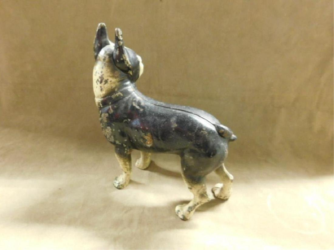 Cast Iron Boston Terrier Doorstop - 2