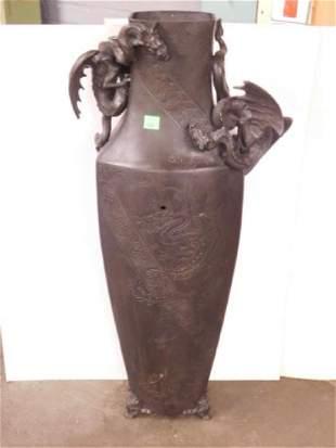 Chinese Bronze Palace Vase