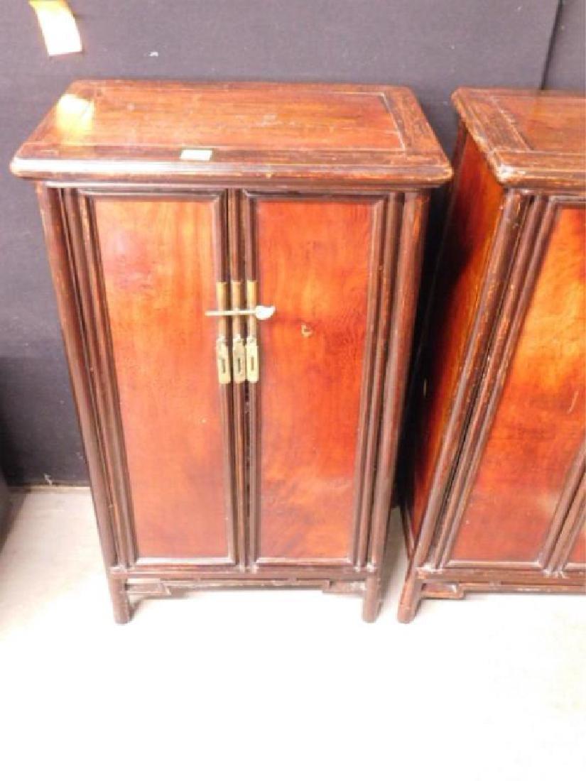 Pr Oriental Cabinets - 2