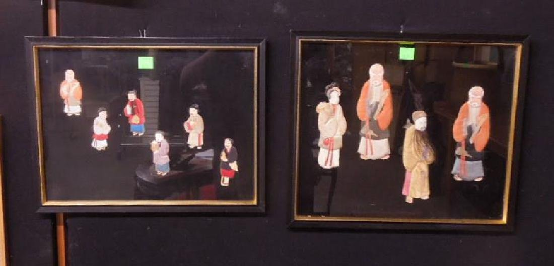 Pr Chinese Cloth & Paper Figures