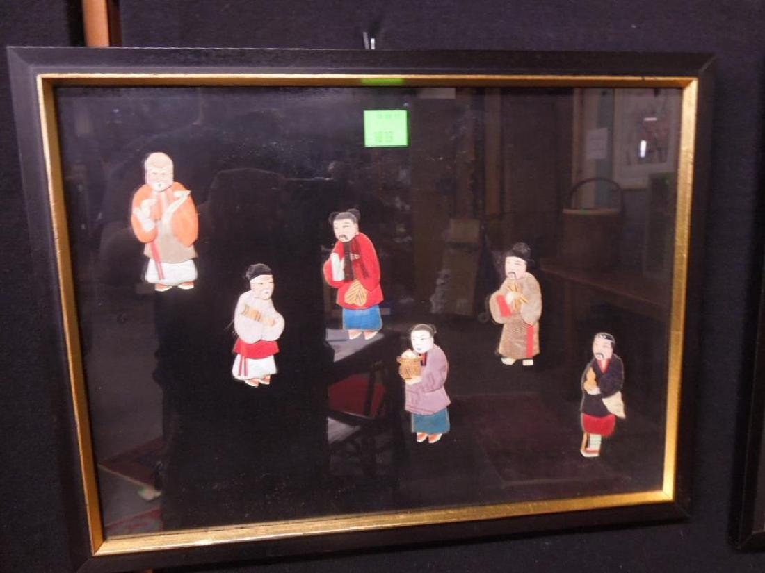 Pr Chinese Cloth & Paper Figures - 2