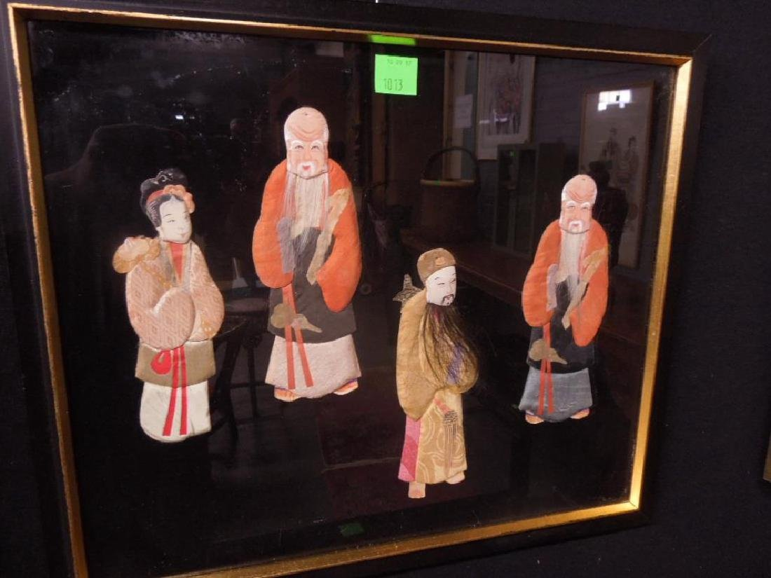 Pr Chinese Cloth & Paper Figures - 3