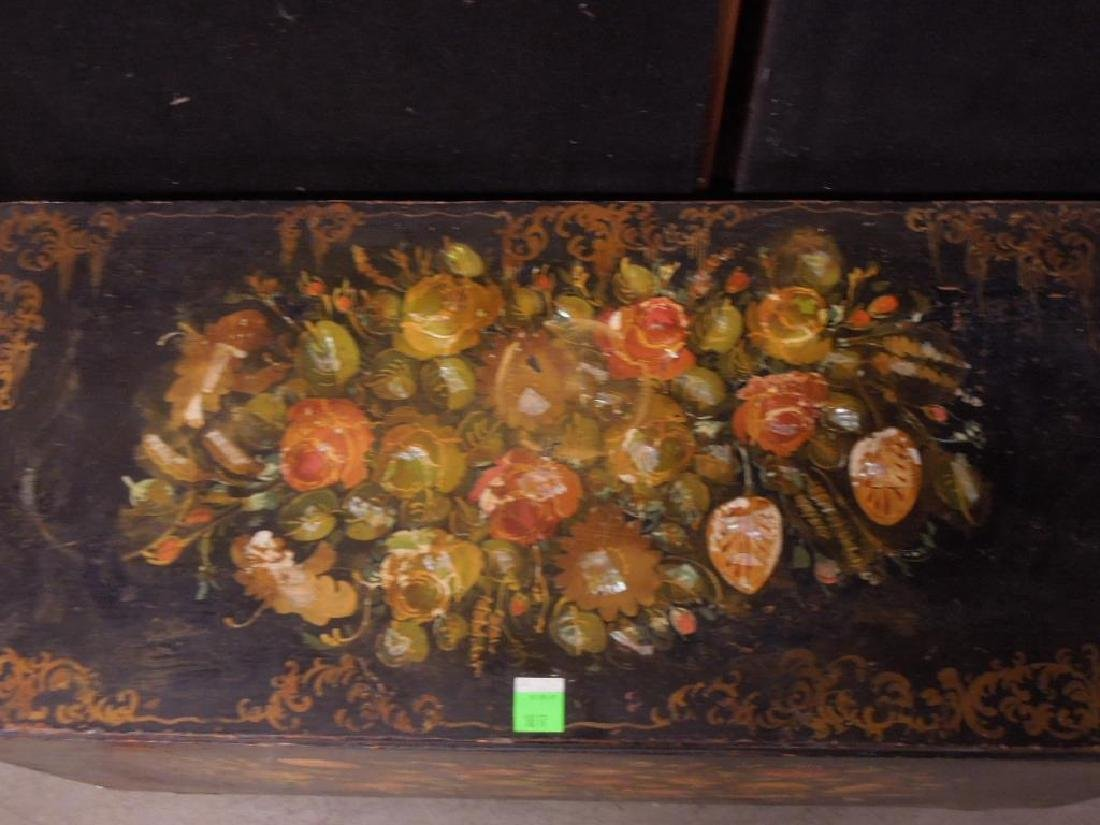 Victorian Decorated Blanket Chest - 2