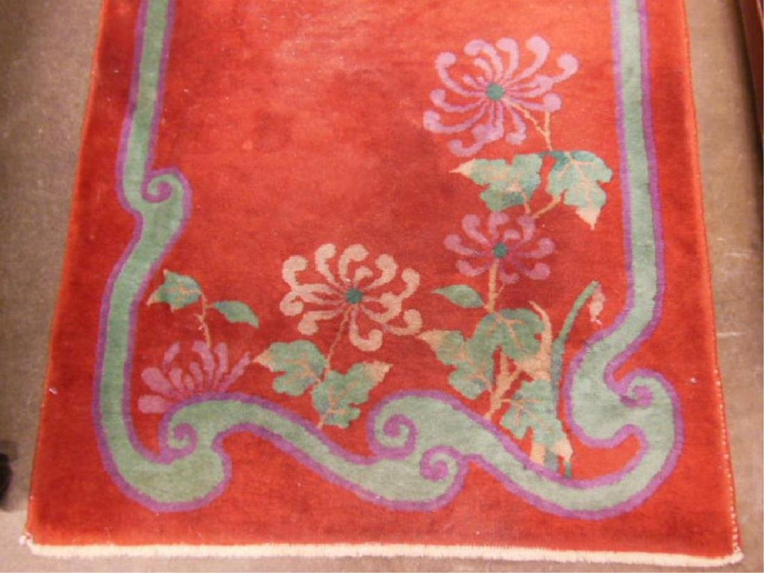 Chinese Art Deco Throw Rug - 2