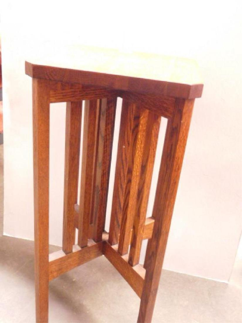 Stickley Style Plant Stand - 2
