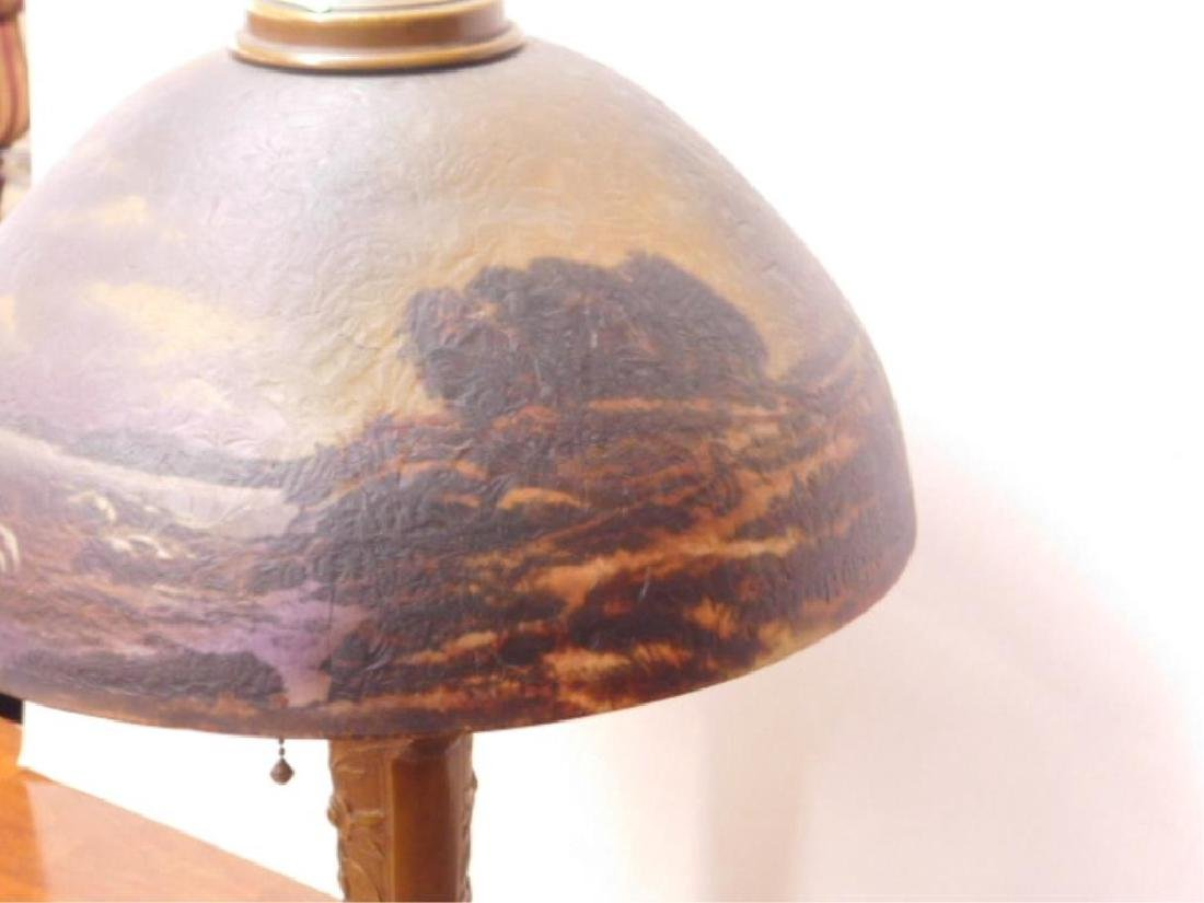 Reverse Painted Shade Table Lamp - 3