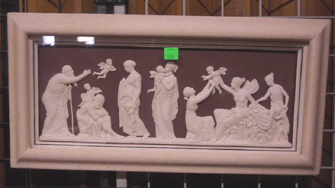 Classical Style Framed Plaque