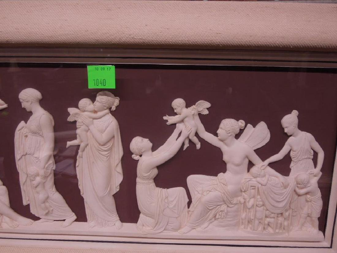 Classical Style Framed Plaque - 3