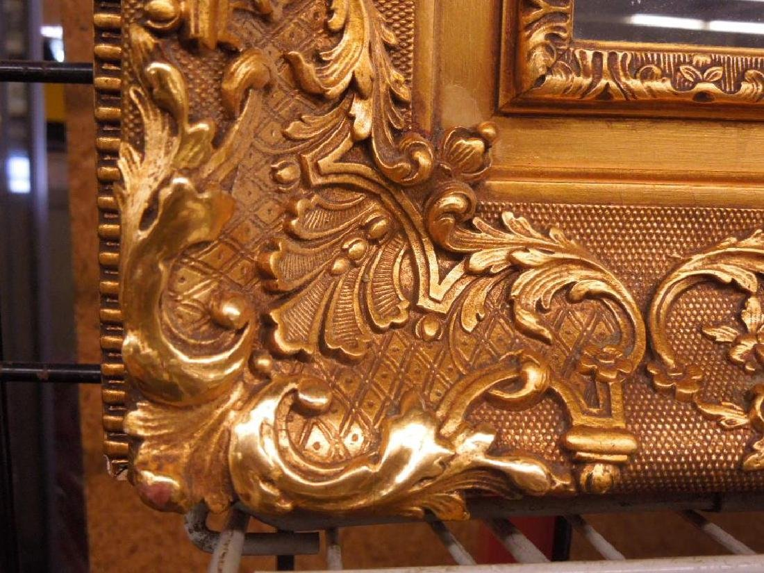 Gilt Carved Wall Mirror - 2