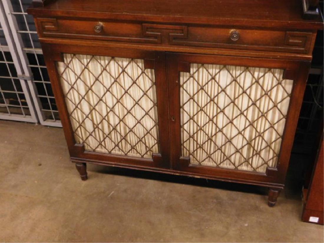 Regency Style Etergiere / Cabinet - 2
