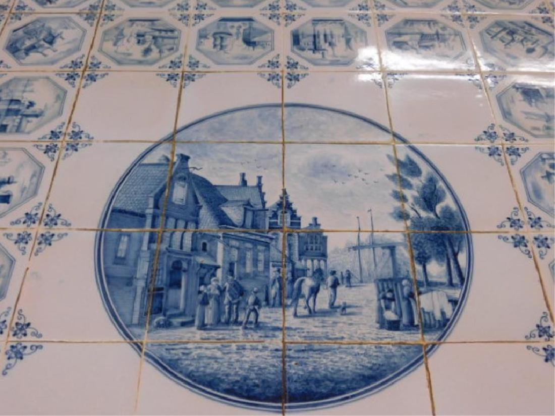 Delft Tile Top Table - 3