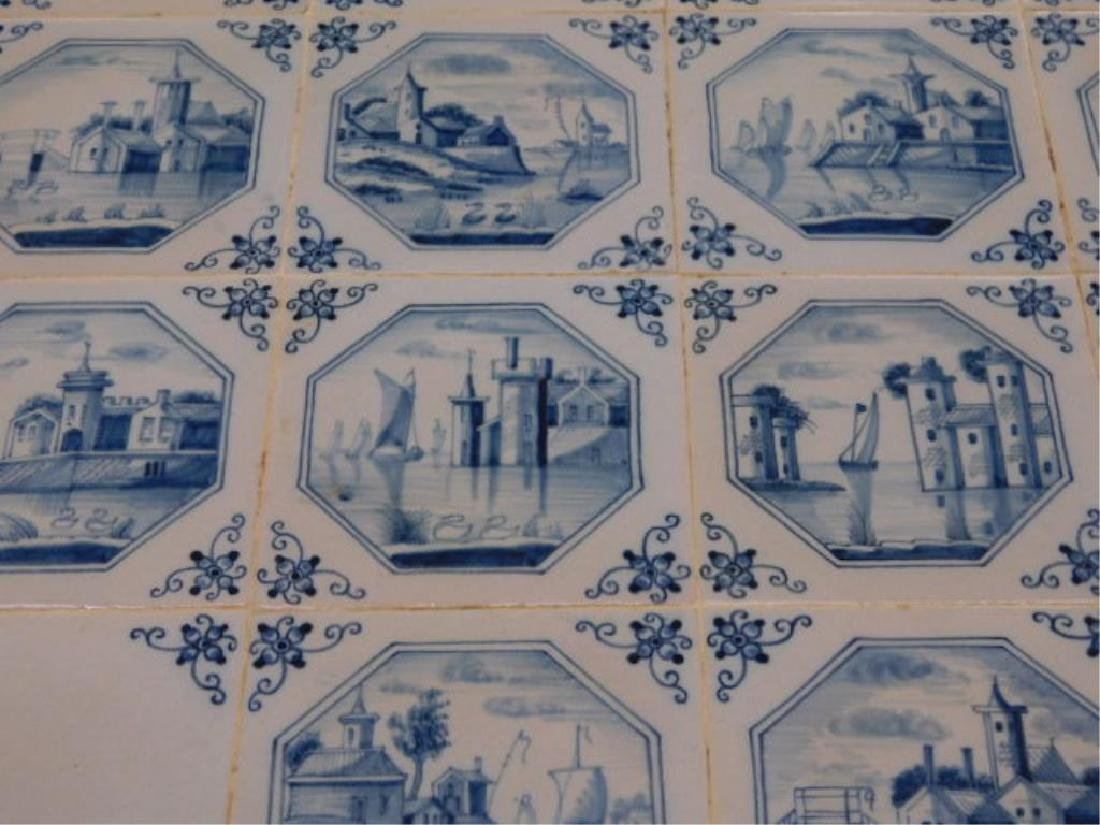 Delft Tile Top Table - 4