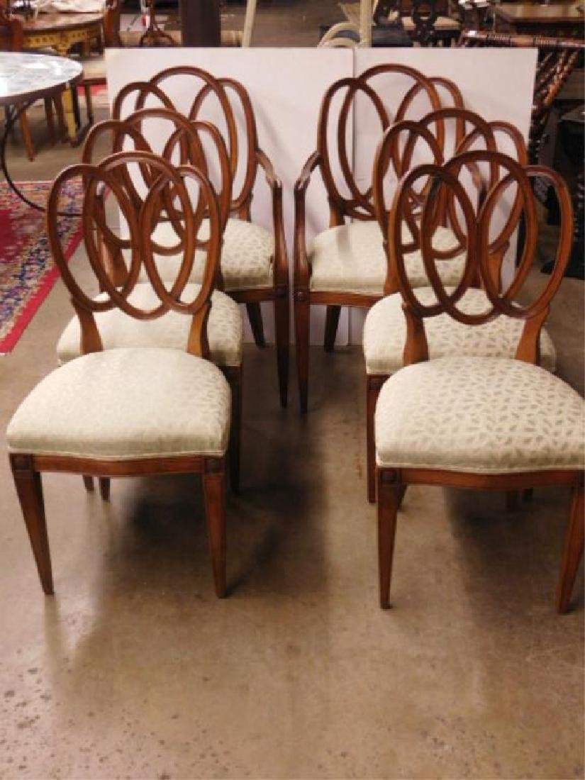 Set of 6 Pretzel Back Chairs