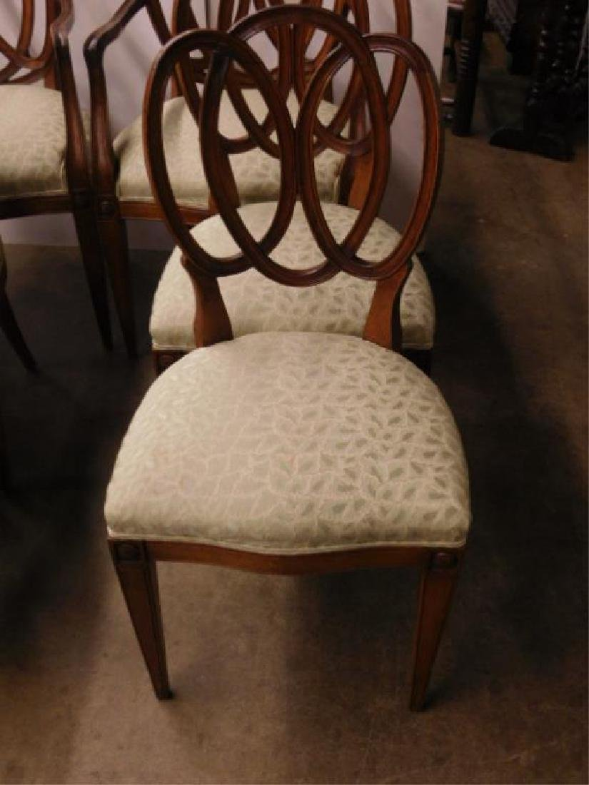 Set of 6 Pretzel Back Chairs - 2