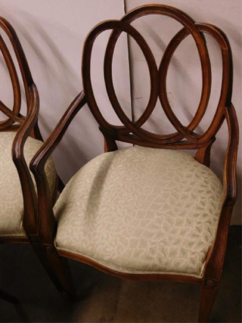 Set of 6 Pretzel Back Chairs - 3