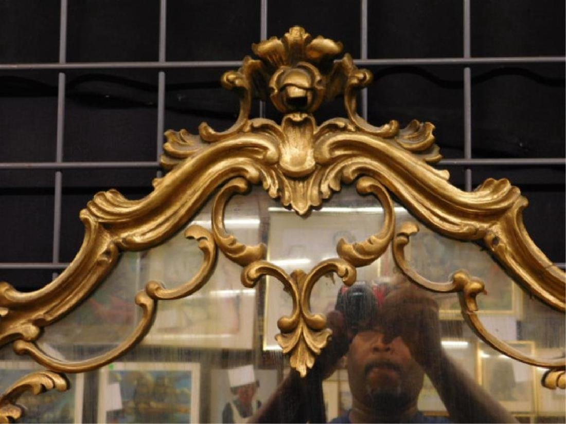 Baroque Style Wall Mirror - 4