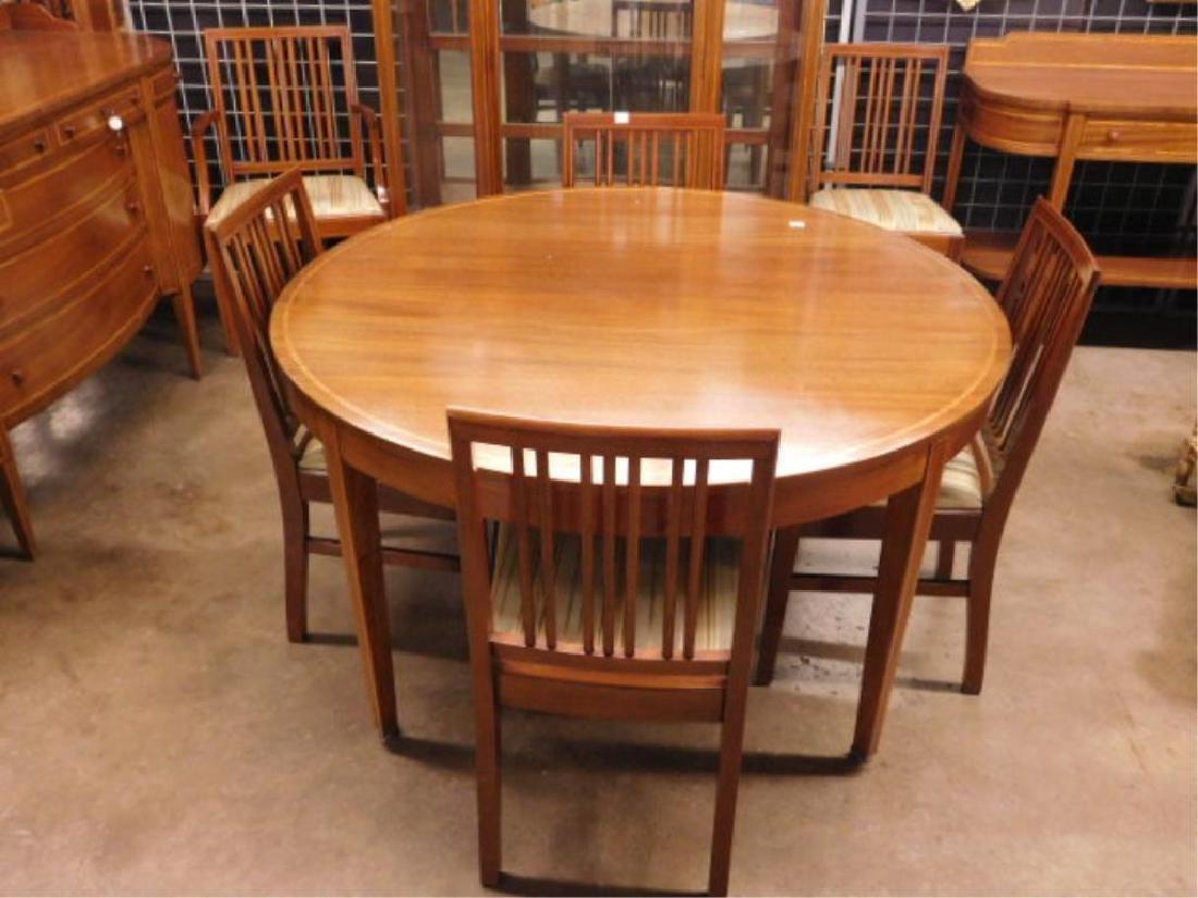 Hepplewhite Style 10 Pc Dining Room Set - 6