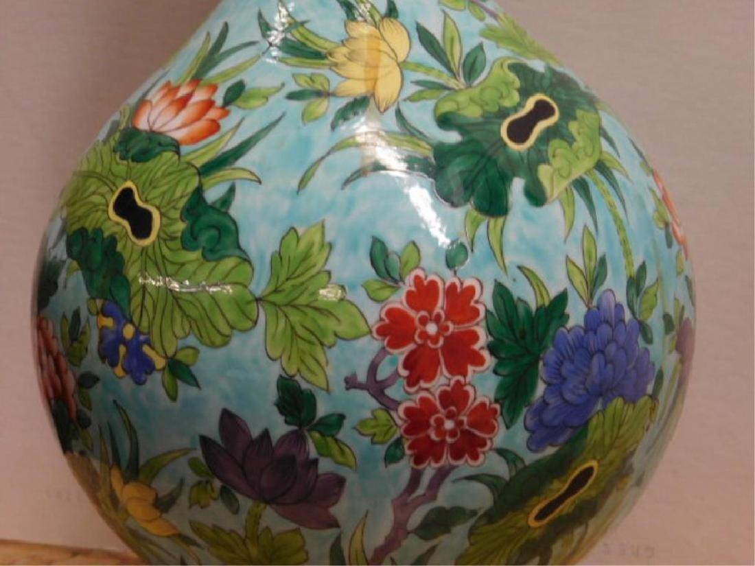 Porcelain de Paris Famille Verte Lamp - 5