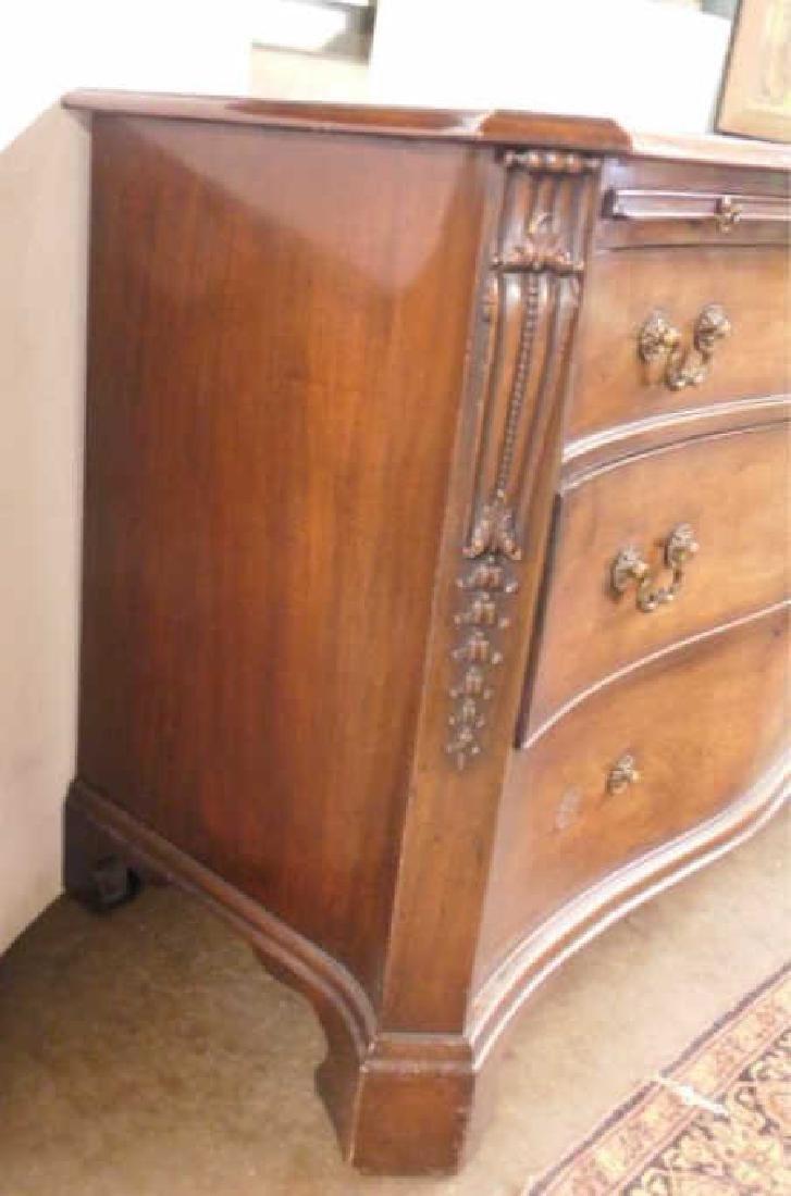 Chippendale Style Bureau - 3