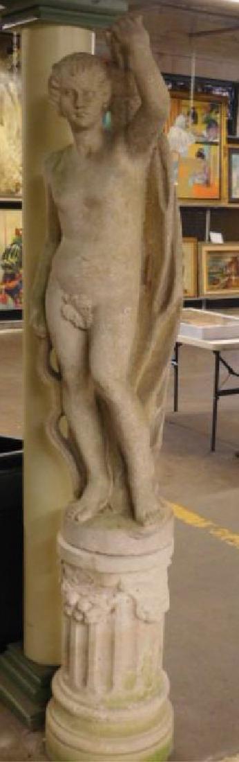 Garden Classical Nude Male Figure Sculpture