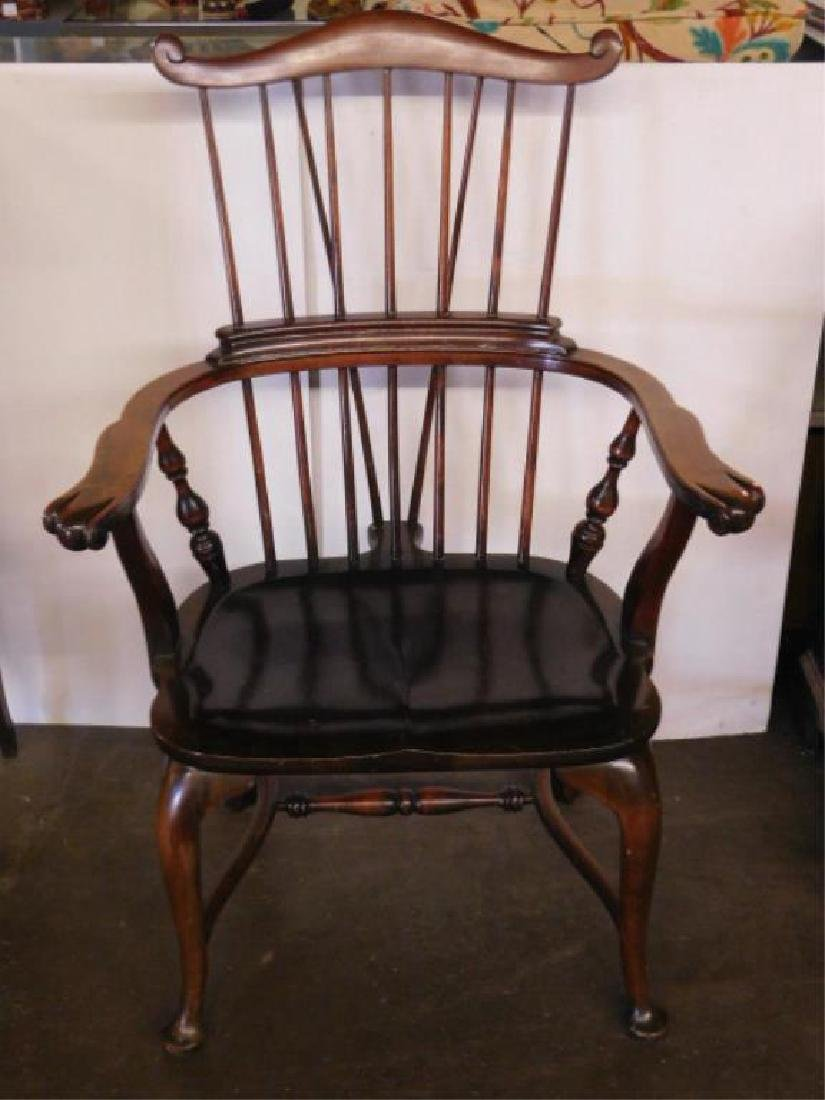 English Comb Back Windsor Style Arm Chair