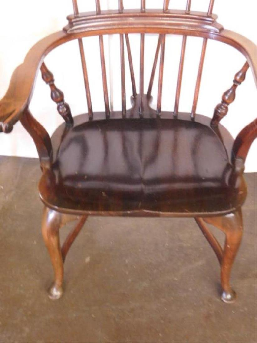 English Comb Back Windsor Style Arm Chair - 2