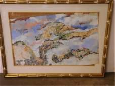 HY Peter Hsu Signed Watercolor