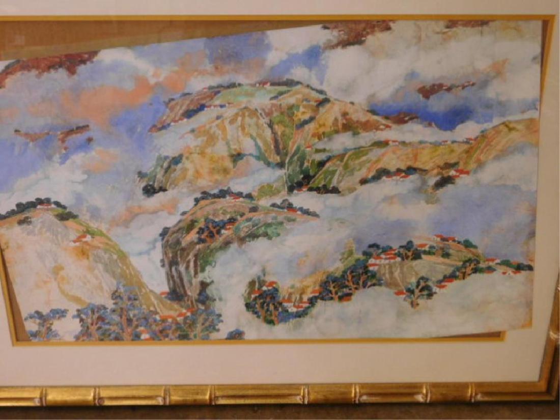 H.Y. Peter Hsu Signed Watercolor - 2