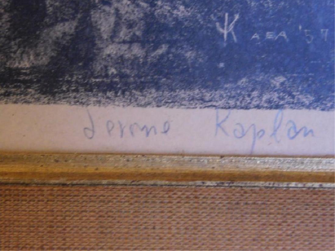 Jerome Kaplan Signed Lithograph Print - 2