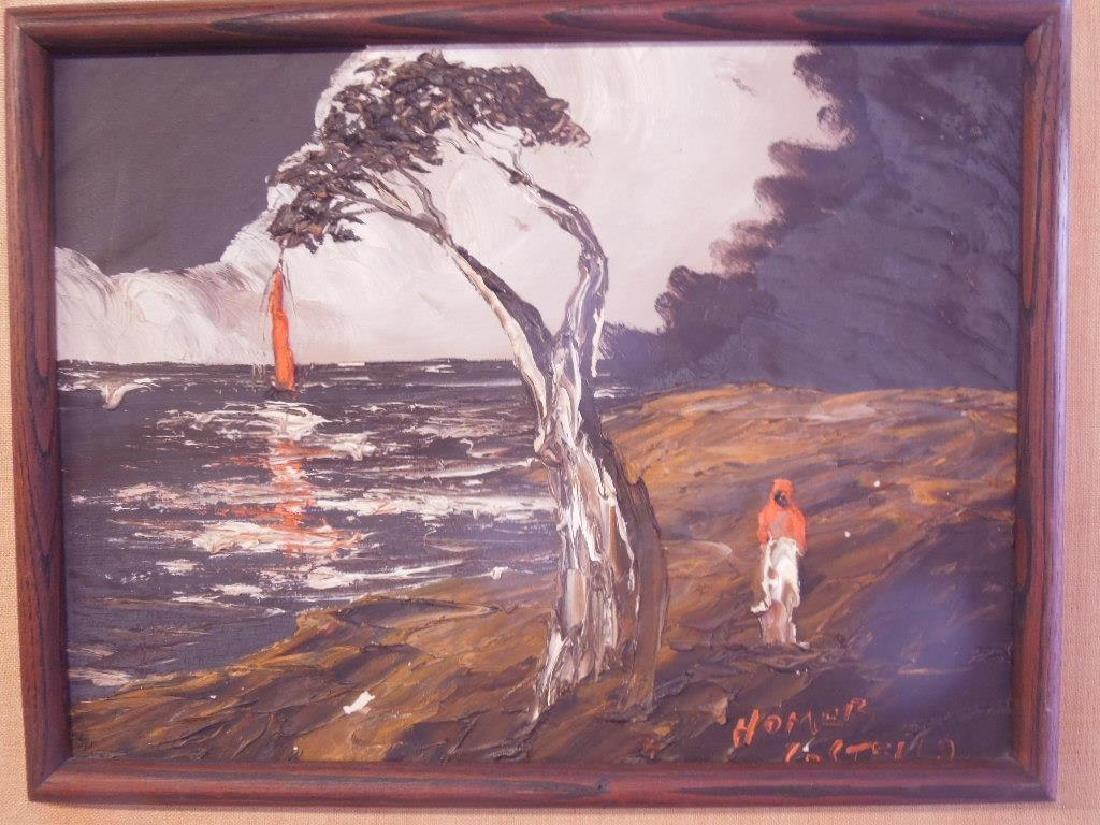 Homer Costello Oil on Board