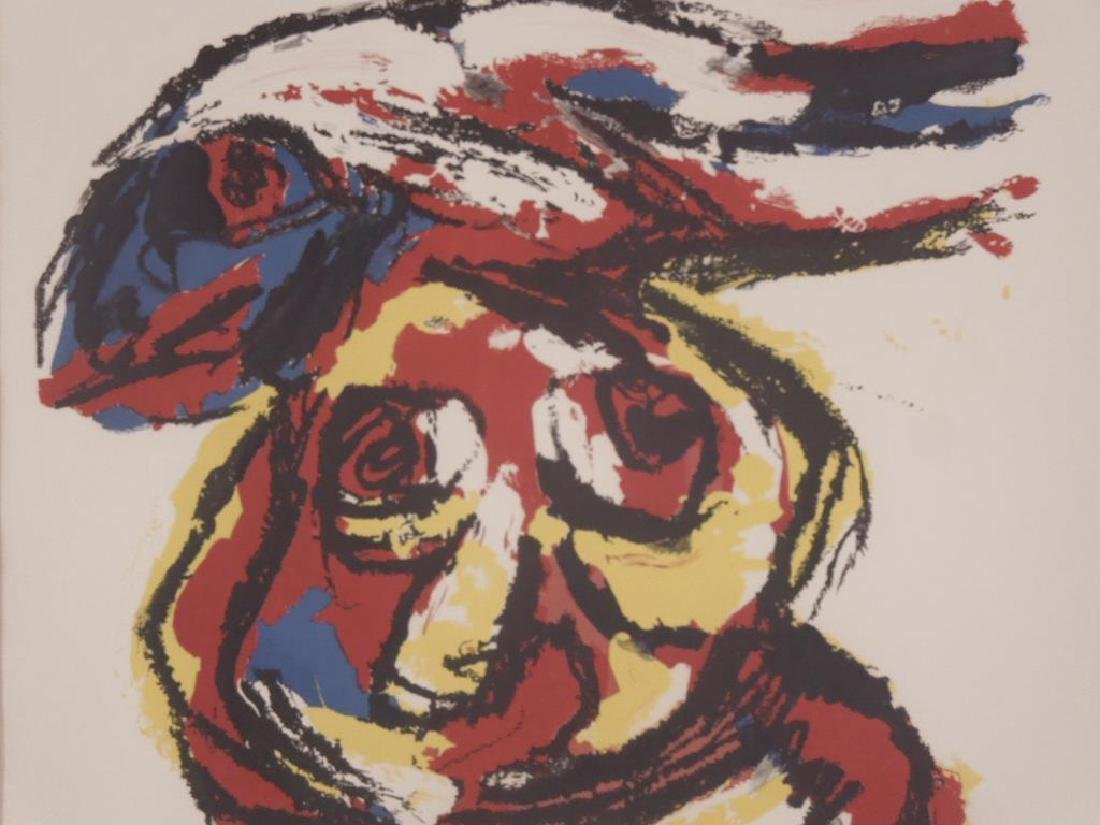 Karel Appel Signed Colored Lithograph - 3
