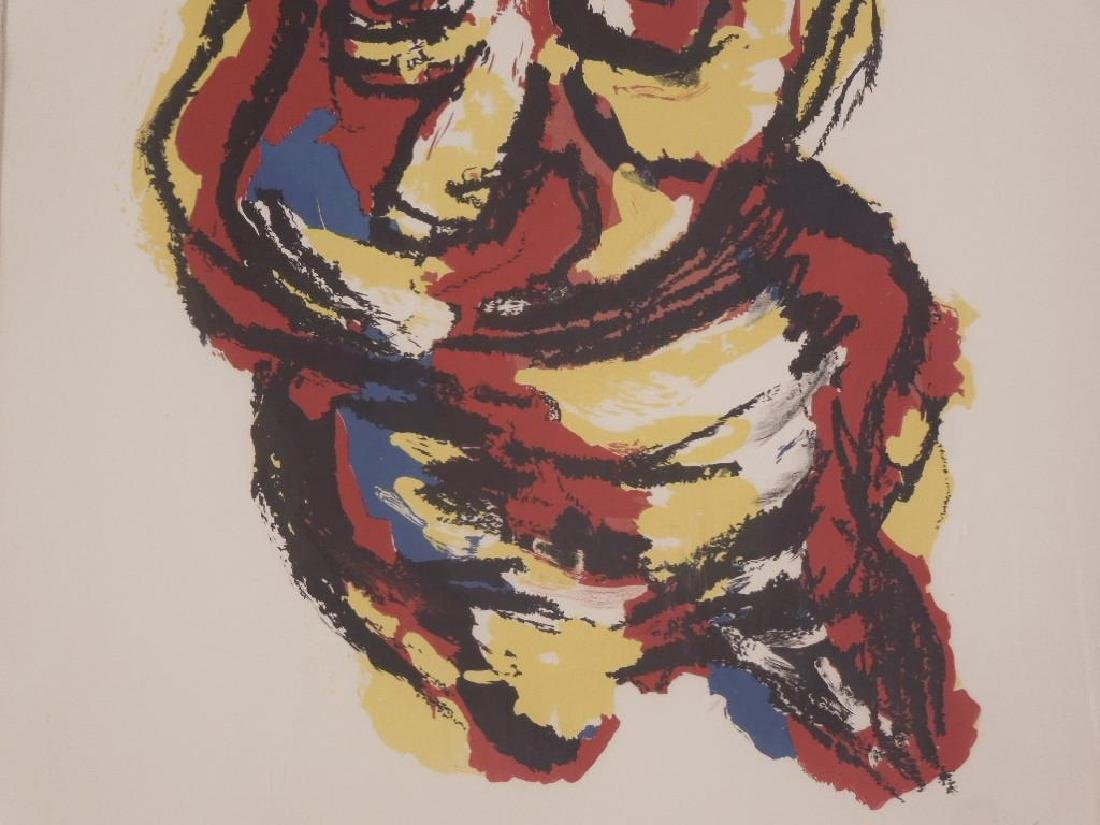 Karel Appel Signed Colored Lithograph - 4