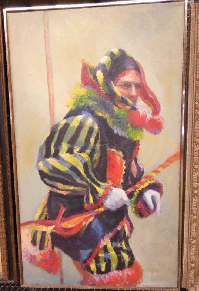 Rhoda Shapiro Attributed Oil on Canvas