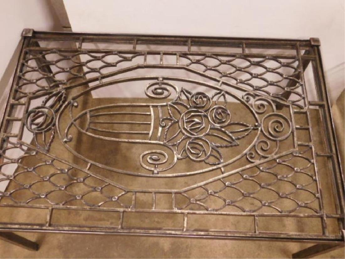 Wrought Iron Coffee Table - 2